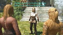 Shemale fucks Peasant women, FUTANARI Game